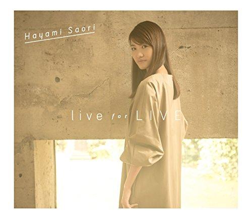 早見沙織/live for LIVE(CD+Blu-ray盤...