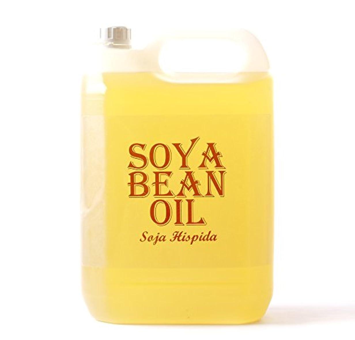 楽しませる蒸誓約Mystic Moments   Soya Bean Organic Carrier Oil - 5 Litres - 100% Pure