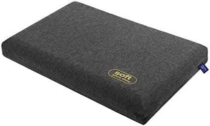 F1F2 枕専用カバー シルクよりも柔らかさが魅力のモダール生地を採用 37x56cm (ナイトグレー)