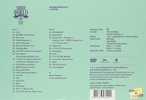 SHINee World IV (2DVDs + ポストカードブック) (韓国盤)