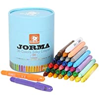 Insunクレヨンfor Toddlers WashableマーカーNon ToxicクレヨンBulk 36 Assorted Colours )