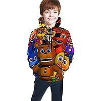 Muindancer Five Nights at Freddy's Sister Youth Hoodies Kids Hooded Sweatshirt