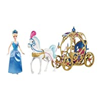 Disney Princess Cinderella Doll With Horse & Carriage (US Version imported by uShopMall U.S.A.)
