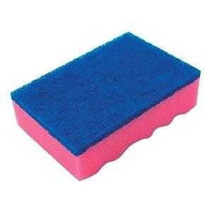 宇都宮製作 スポンジたわしハード L(125×88×36mm) ×120個 A-630・ピンク