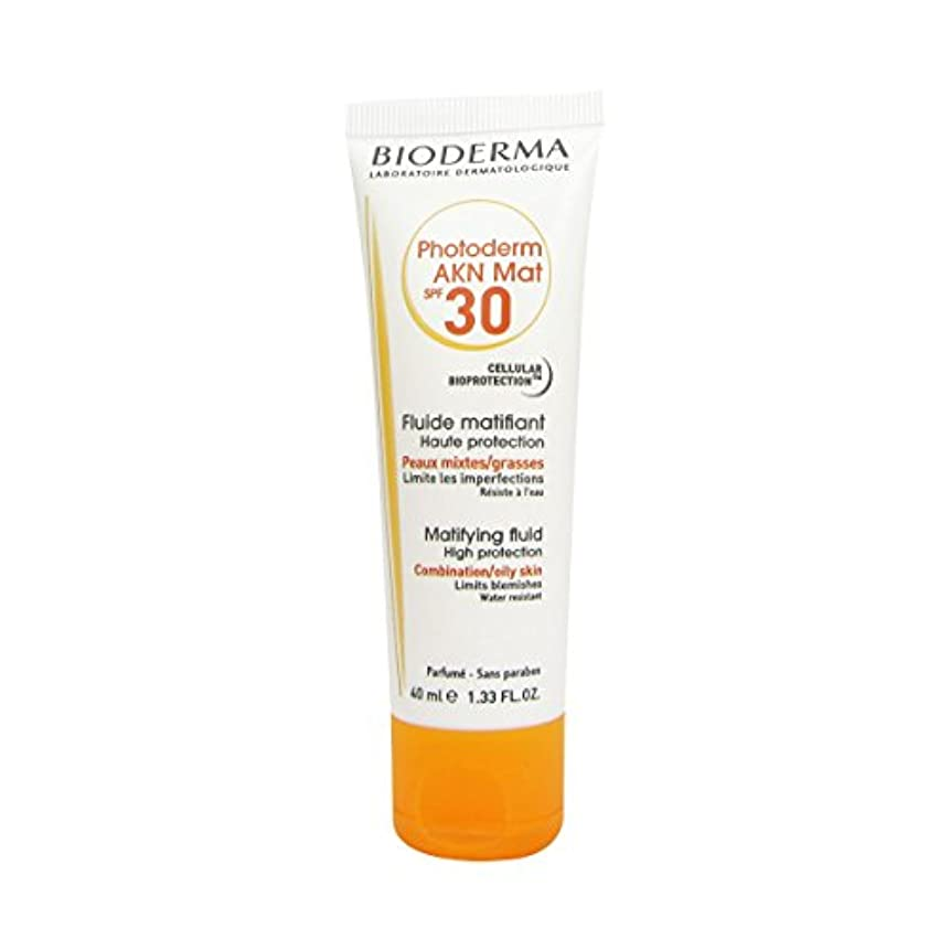騒第三安息Bioderma Photoderm Akn Mat Spf30 40ml [並行輸入品]