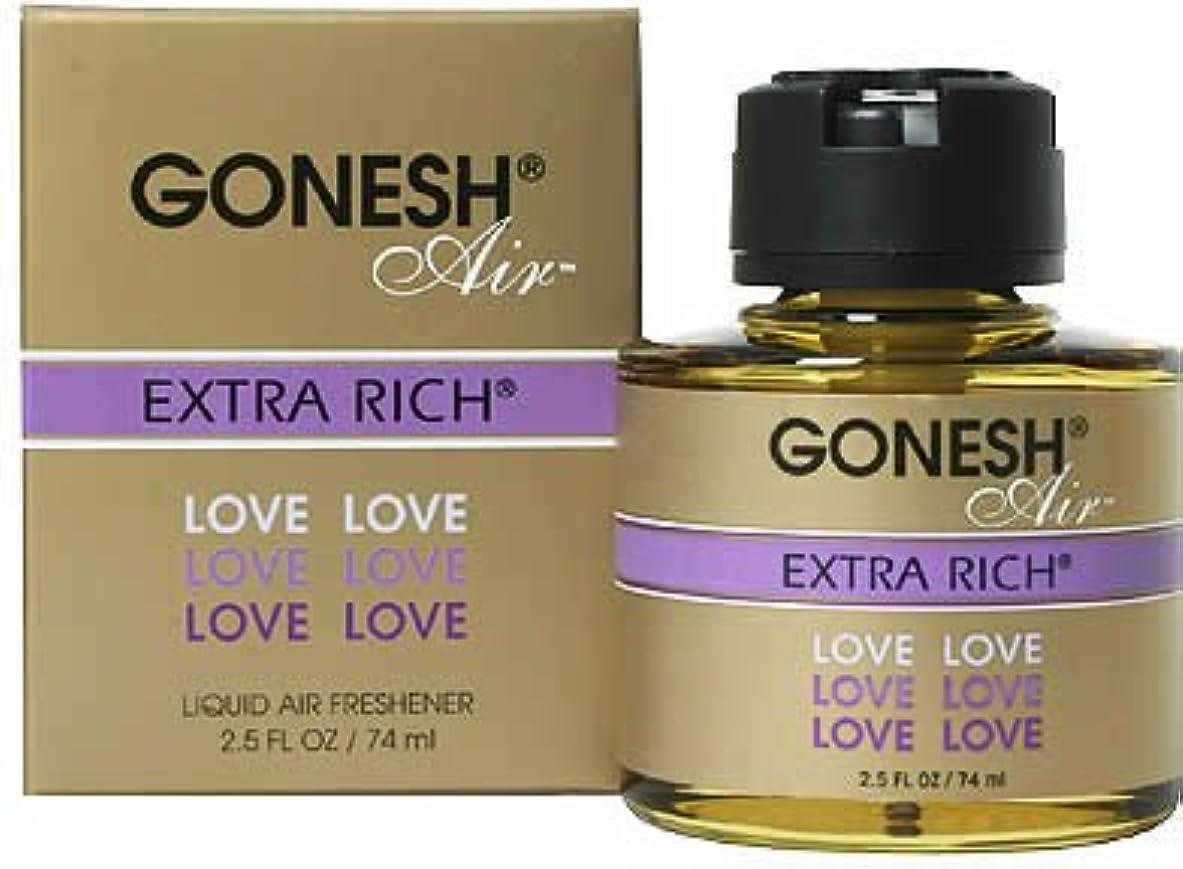 真鍮うまくやる()祖母GONESH リキッドエアフレッシュナー ラブ(フルーツ&ベリー)