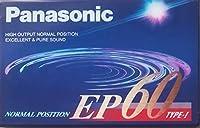 Panasonic/パナソニック カセットテープ EP60 ノーマル/TYPEⅠ