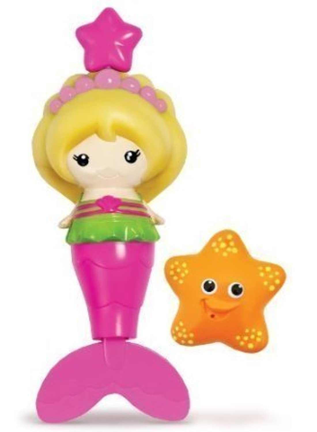 Bath Toy - Munchkin - Splash Along Mermaid Sea Star New 15310-3