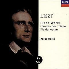 ホルヘ・ボレット演奏 《リスト:ピアノ作品集》Decca 9枚組の商品写真