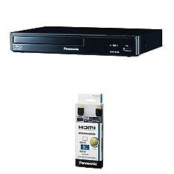 パナソニック ブルーレイプレーヤー フルHDアップコンバート対応 DMP-BD88-K + HDMIケーブル 1m RP-CHE10-K セット