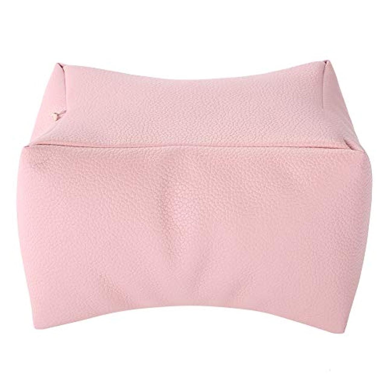 量ひいきにする管理しますネイル用アームレスト アームレスト ネイル ハンドクッション 手をサポート(ピンク)