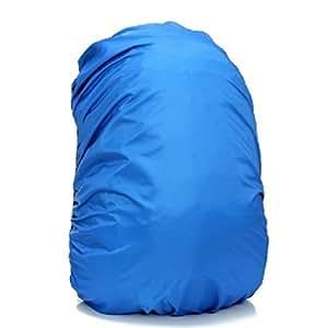 【la select】雨よけ レインカバー リュックカバー ザックカバー  【S】【M】サイズ [黒][ブルー] (ブルー, 【M】)