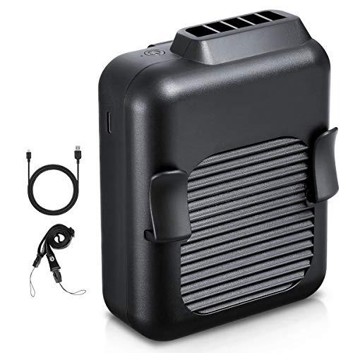 Avantool ベルトファン 腰掛け扇風機 充電式 ジェットファン 扇風機 小型 長時間動作 腰ベルトファン 静音 アウトドア/作業/旅行に適用 暑さ対策