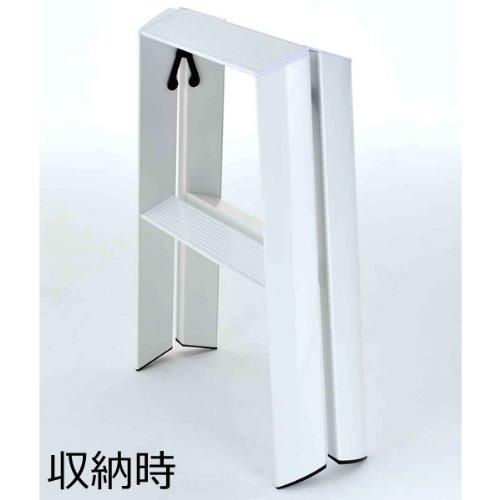 Astonishing Details About Lucano Step Stool Slim Design 2Step Orange Folding Lightweight Aluminum Ladder Cjindustries Chair Design For Home Cjindustriesco