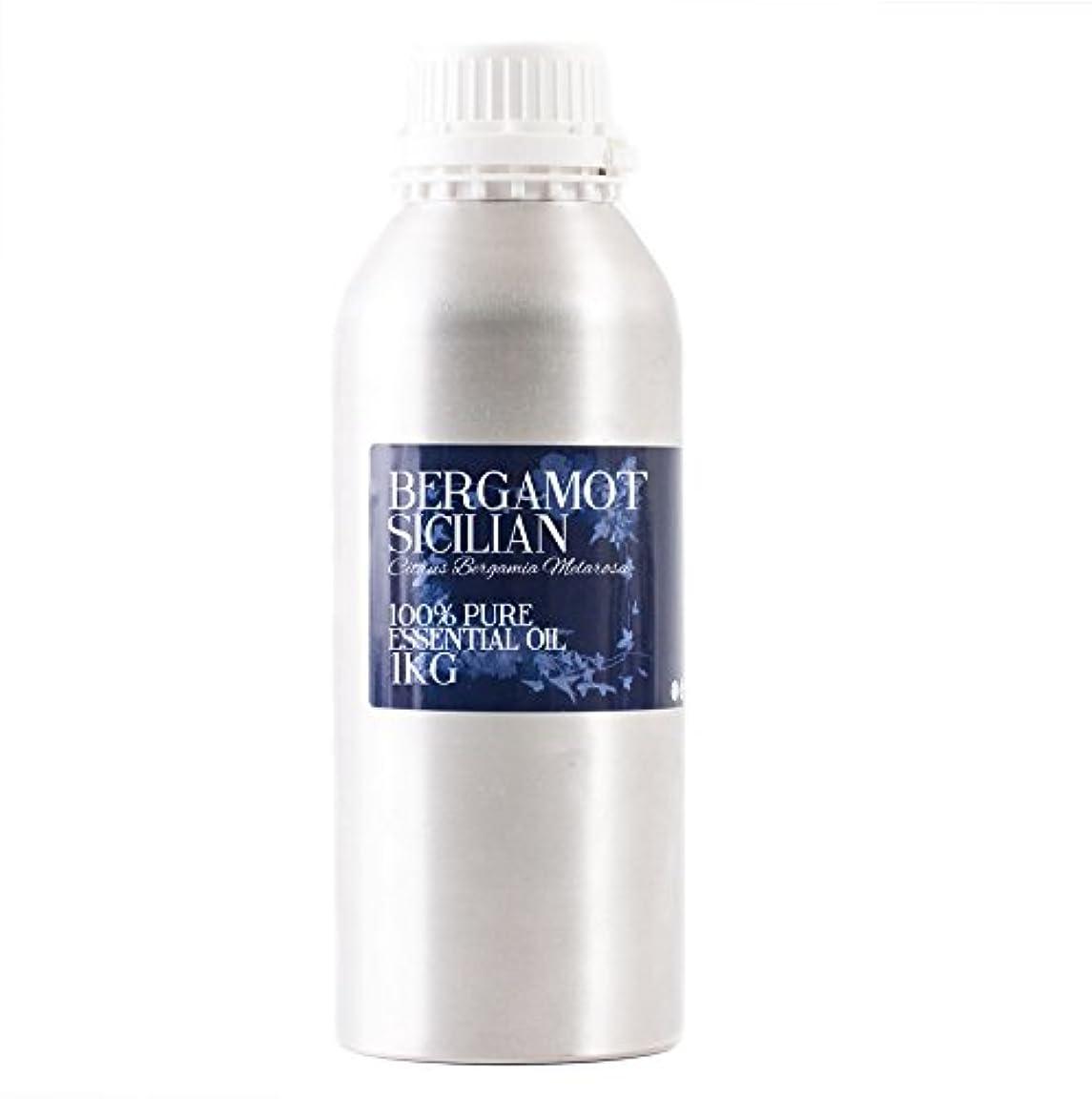 受粉する修理工予防接種するMystic Moments   Bergamot Sicilian Essential Oil - 1Kg - 100% Pure