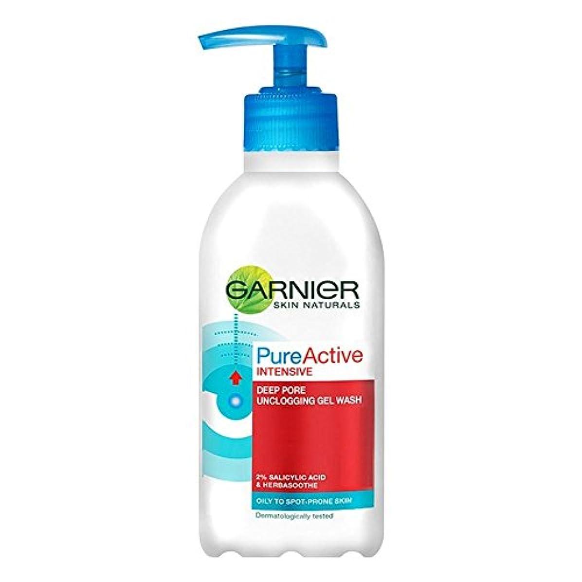 パズル抑制Garnier reinen Wirkstoff Wash (200ml) - Packung mit 6