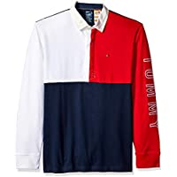 Tommy Hilfiger Adaptive Men's Rugby Shirt with Magnetic Buttons Regular Fit