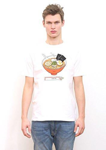 (グラニフ)graniph ベーシックTシャツ / ラーメンクン ( ホワイト ) S