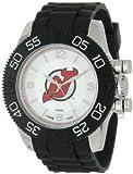 Game Time (ゲームタイム) NHL-BEA-NJ Beast Jersey Devils Round アナログ Watch メンズ 男性用 腕時計 ウォッチ(並行輸入)