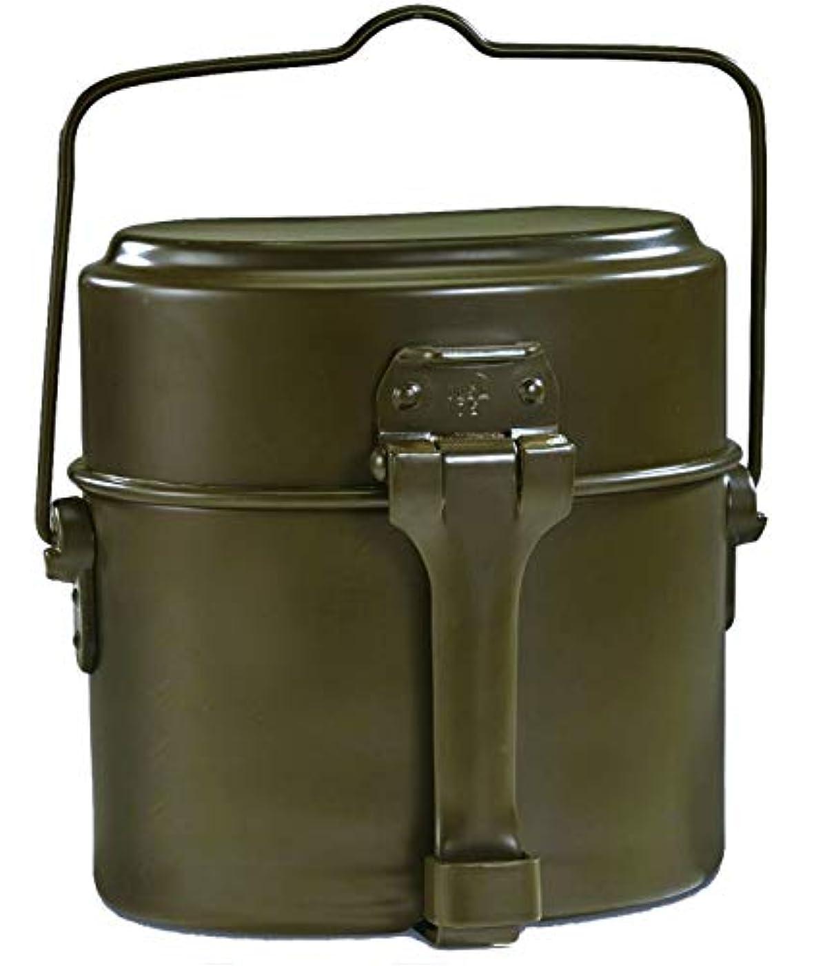 あいまいなファランクス東部イタリア軍 メスキット 飯盒 3ピース 軍払下 未使用品 刻印 ILSA 75