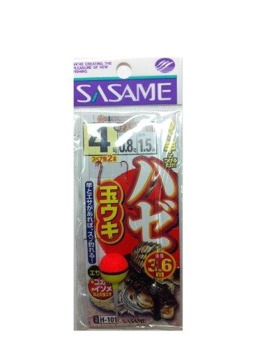 ささめ針(SASAME) H-101 ハゼ玉ウキ3.6m 4
