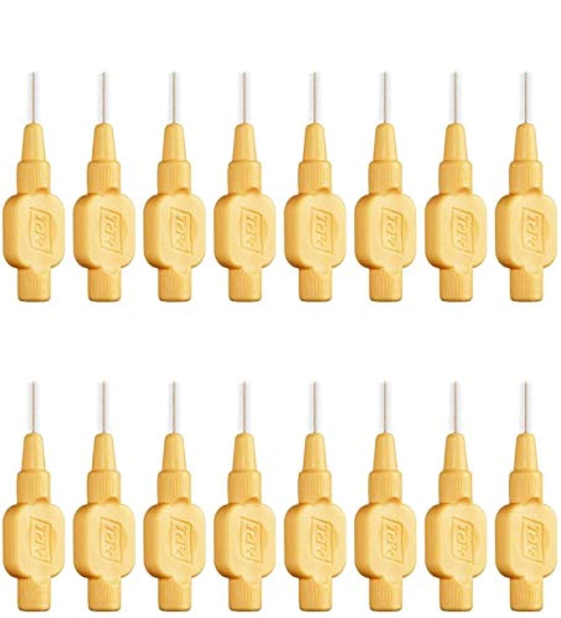 月曜日実際の思慮のないテペ 歯間ブラシ 極やわらかめ(エクストラソフト)0.45mm 8本入×2袋 (0.45)