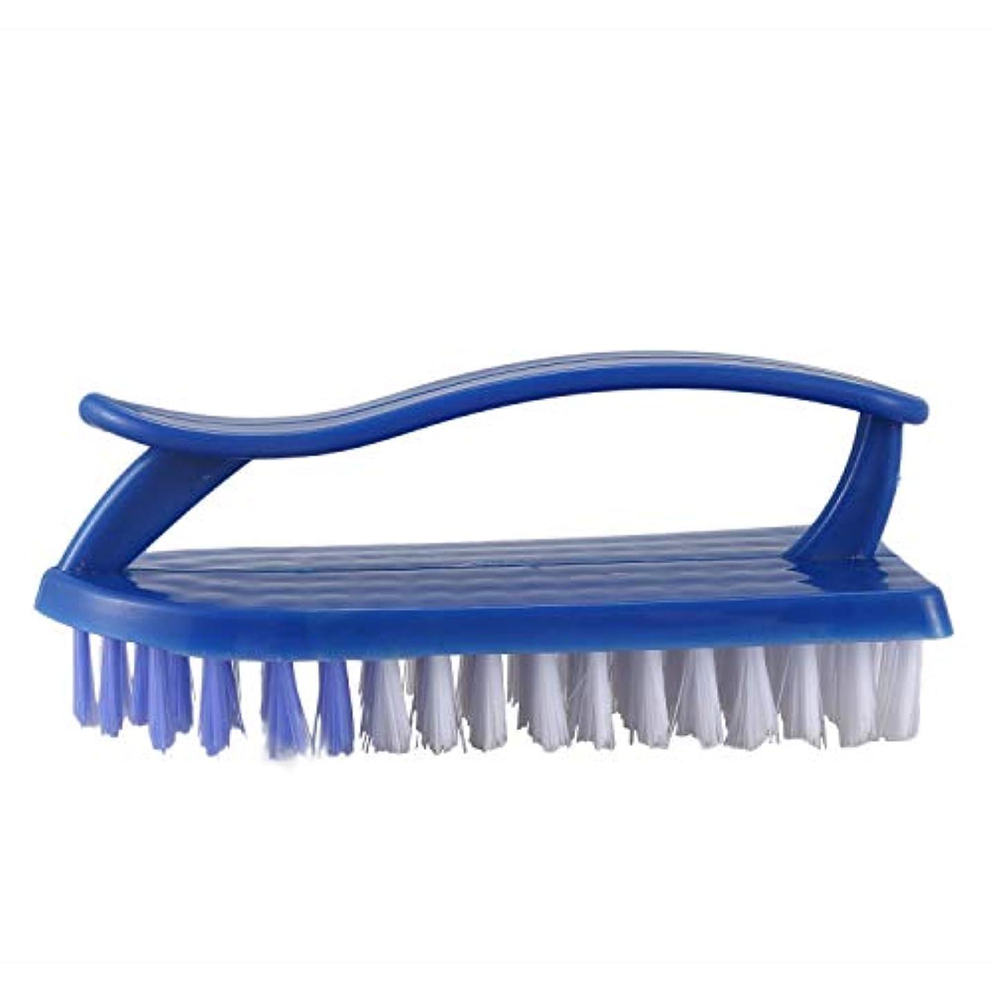 病気ささやき手綱ACAMPTAR プラスチック製の服靴絵筆スクラブブラシ クリーニングツール