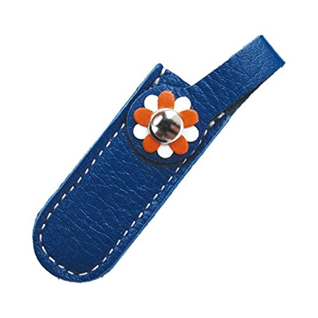 中性衣類保存するジェルネイル  サンシャインベビー  シザーケース ブルー