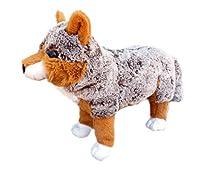 ADORE 14 Standing Jacob the Red Wolf Stuffed Animal Plush Toy [並行輸入品]