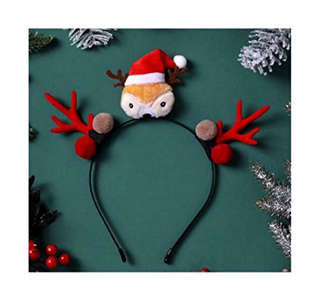 騙す純粋にお祝いクリスマスヘッドバンド子供のギフトジュエリーのヘアアクセサリー小さな枝角帽子飾りかわいいエルクヘアピン豪華なヘッドバンド茶色の枝角ヘラジカヘッドバンド(7つのスタイルオプション) (スタイル : 5#)