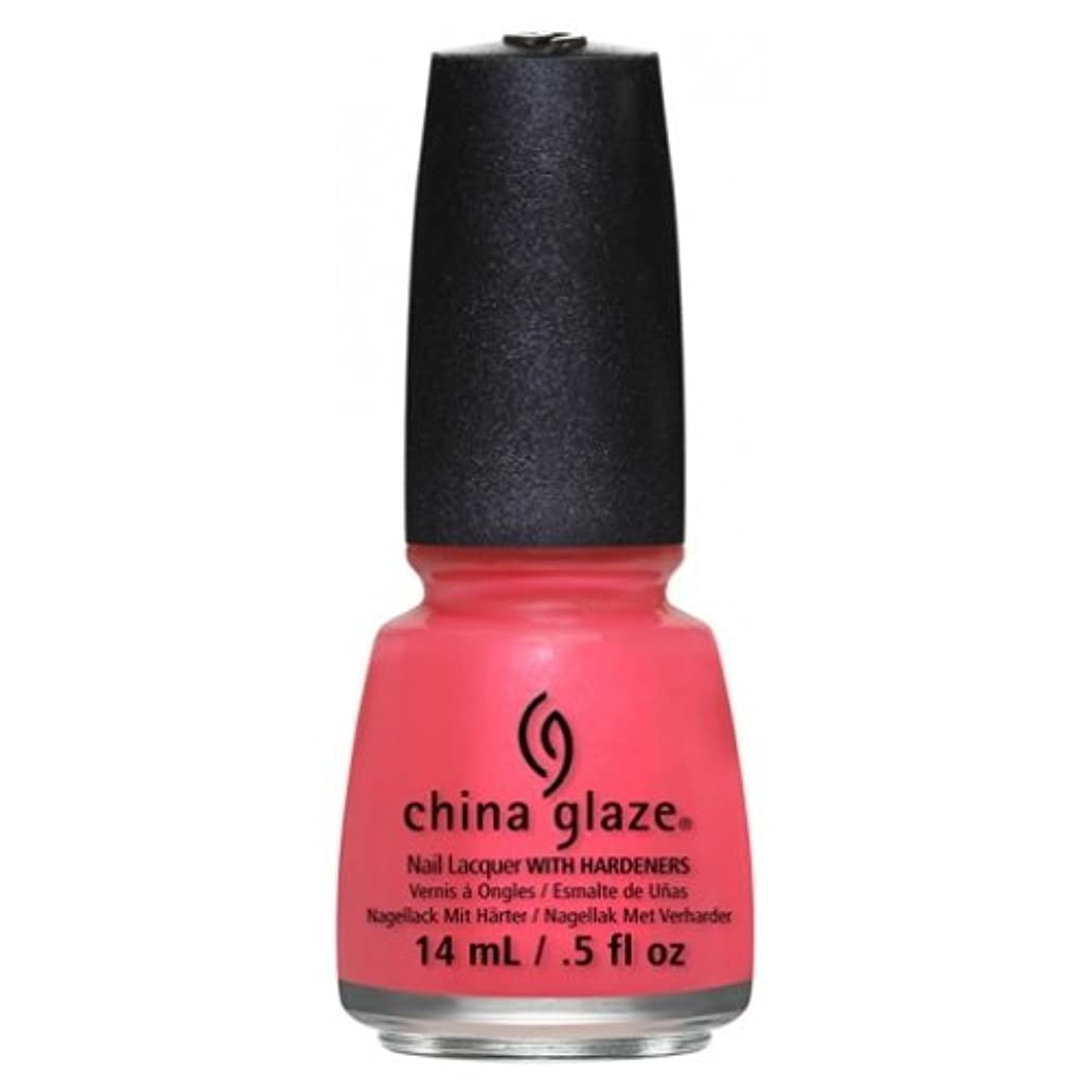 アーク玉ねぎ万一に備えて(6 Pack) CHINA GLAZE Nail Lacquer - Art City Flourish - Strike A Rose (並行輸入品)