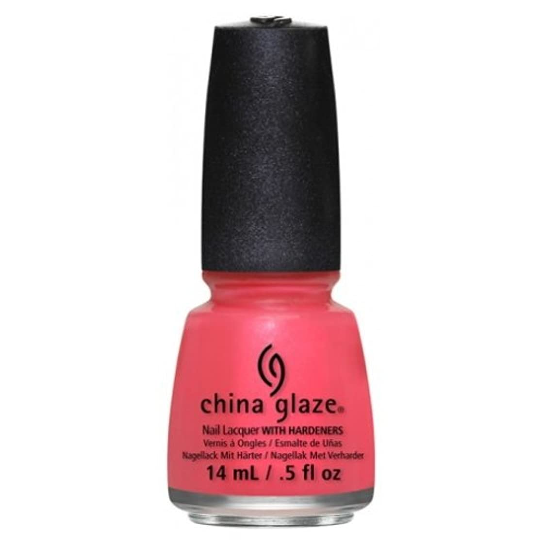 テレビを見る燃やすブレンドCHINA GLAZE Nail Lacquer - Art City Flourish - Strike A Rose (並行輸入品)