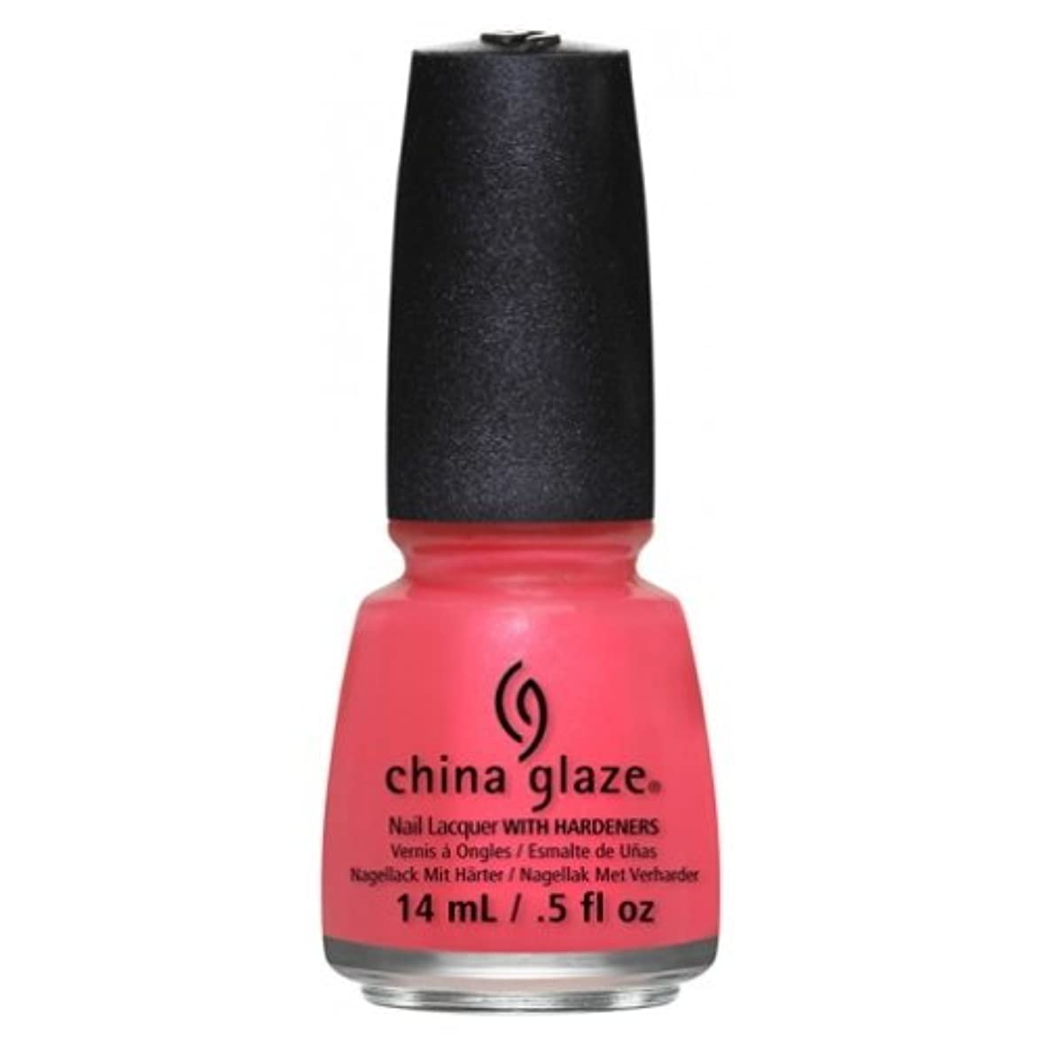 弱める深遠スリル(6 Pack) CHINA GLAZE Nail Lacquer - Art City Flourish - Strike A Rose (並行輸入品)