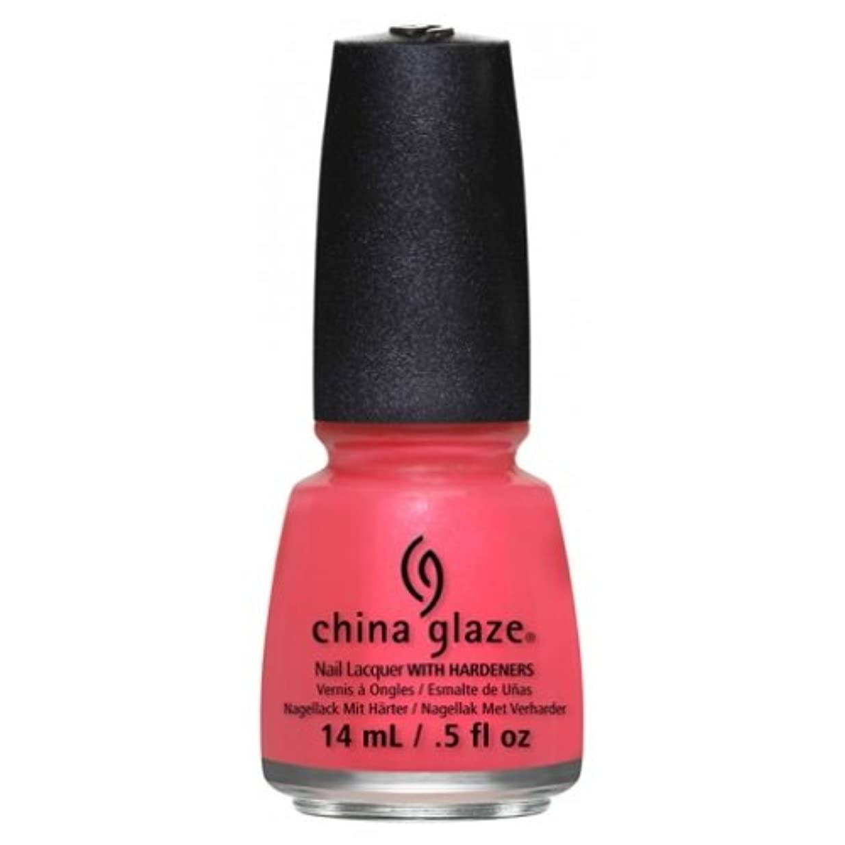 設置店主犬(6 Pack) CHINA GLAZE Nail Lacquer - Art City Flourish - Strike A Rose (並行輸入品)