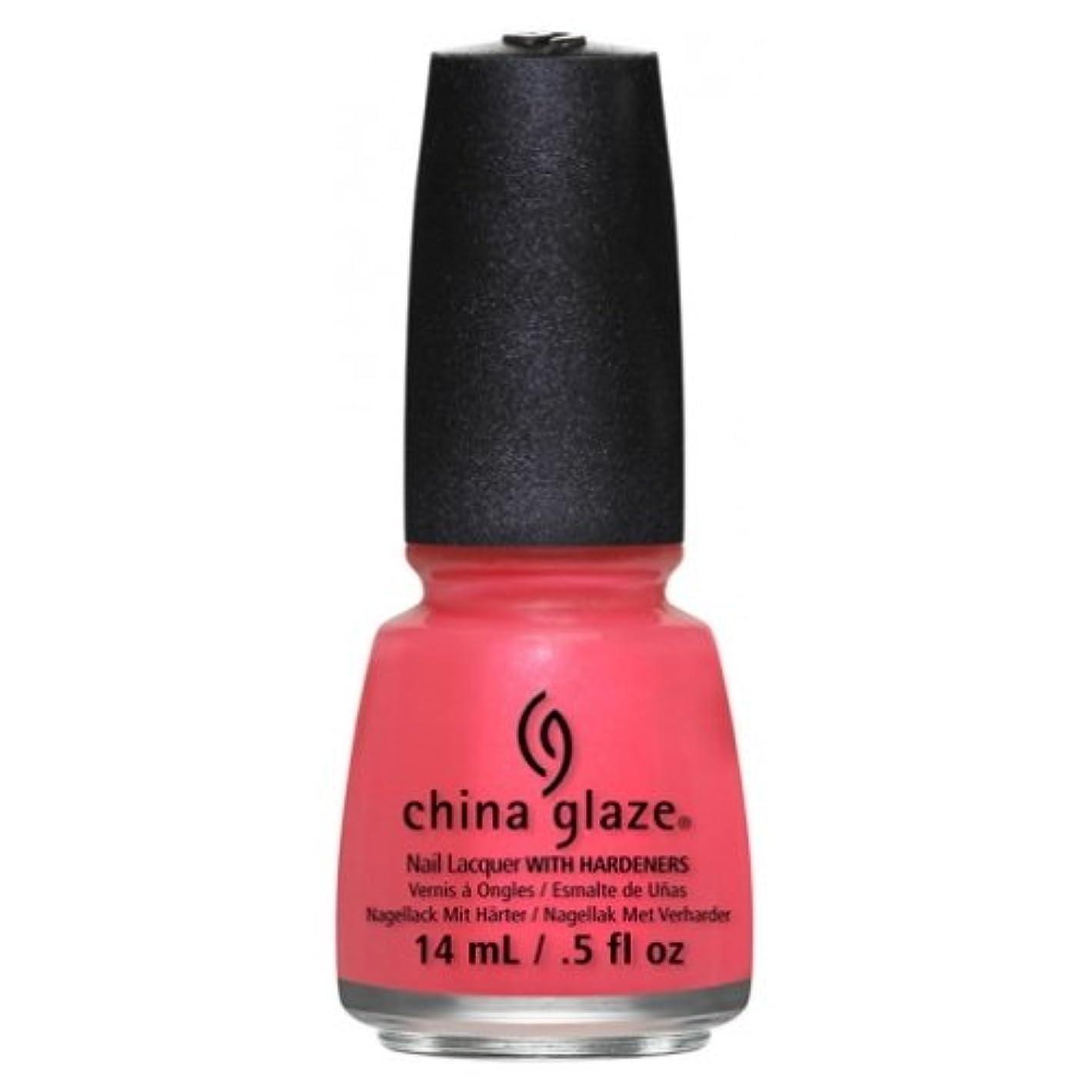そう登場ご飯(3 Pack) CHINA GLAZE Nail Lacquer - Art City Flourish - Strike A Rose (並行輸入品)