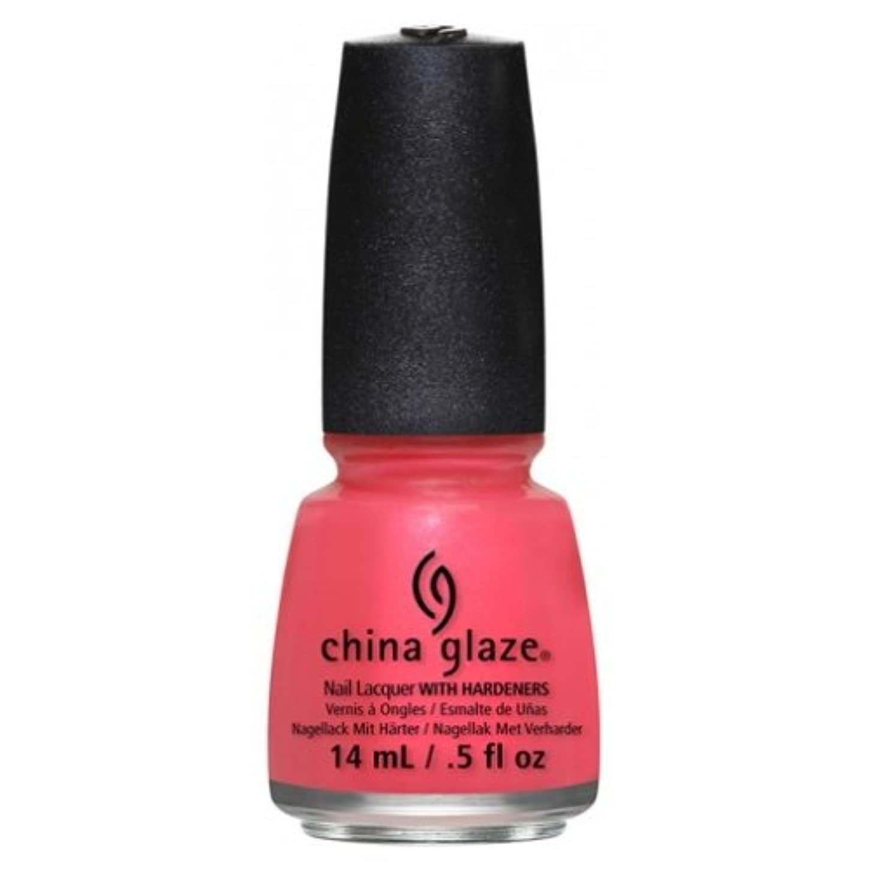 クレア火傷選択する(6 Pack) CHINA GLAZE Nail Lacquer - Art City Flourish - Strike A Rose (並行輸入品)