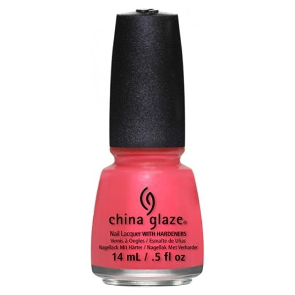 水族館機械的中傷CHINA GLAZE Nail Lacquer - Art City Flourish - Strike A Rose (並行輸入品)
