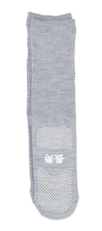 千クライストチャーチ器用神戸生絲 すべり止め靴下( 長寿