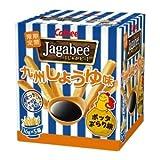 【販路限定品】カルビー じゃがビー Jagabee 九州しょうゆ味 80g×12箱
