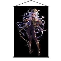 COSMONDE タペストリー FateGrand Order フェイト グランド オーダー FGO メドゥーサ Medusa ポスター 掛ける絵 巻物 軸物 アニメ おしゃれ 萌え (90cmX60cm)