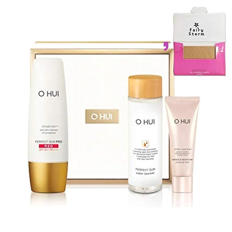 分配します百科事典どこにも[オフィ/O HUI]韓国化粧品 LG生活健康/OHUI PERFECT SUN Pro RED Special Set/O HUI パーフェクト サン プロ レッド 企画 17感謝 (SPF50+/PA+++) 50ml...
