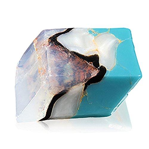 Savons Gemme サボンジェム 世界で一番美しい宝石石鹸 フレグランス ソープ ターコイズ ミニ 114g