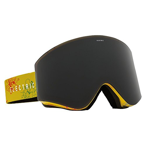 Electric(エレクトリック) スキー・スノーボードゴーグル EGX CARTOON YELLOW-GREY/GOLE CHROME LENS 16EGXCY_1