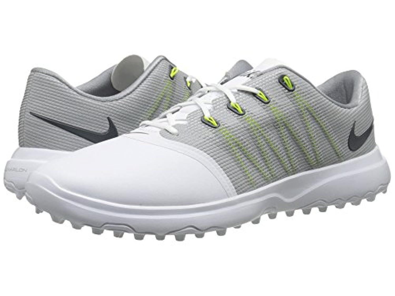 (ナイキ) NIKE レディースゴルフシューズ?靴 Lunar Empress 2 White/Anthracite/Cool Grey 7.5 (24.5cm) D - Wide