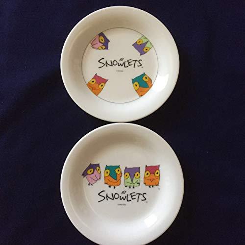 品 1993年長野オリンピック SNOWLETS スノーレッツ プレート皿2枚セット ヤマカ製