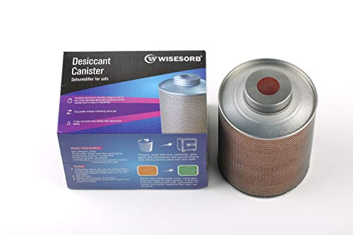 Wisesorb 750グラム シリカゲルキャニスター除湿器...