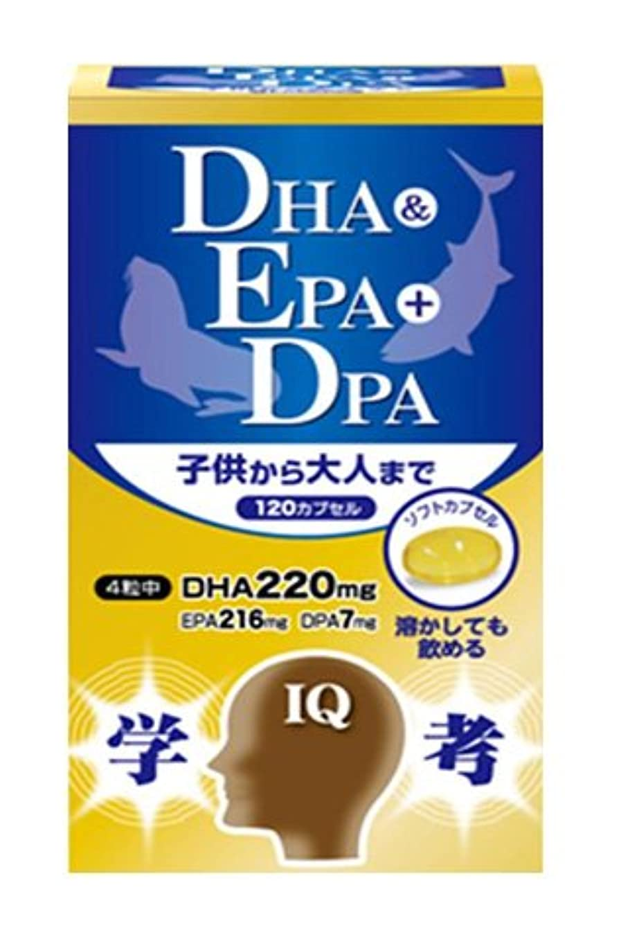 胆嚢警官無力三供堂漢方 DHA&EPA+DPA 290mg×120粒×10個セット