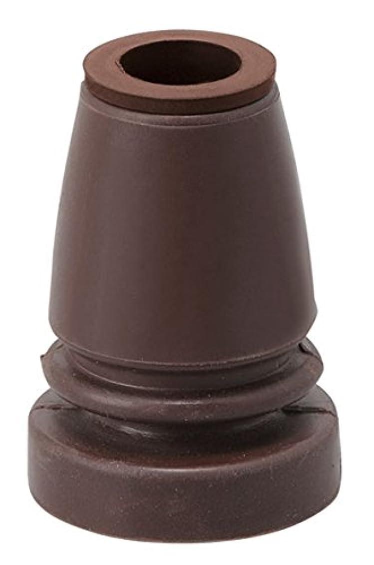 我慢する沈黙あからさま幸和製作所 杖用取替えゴム(フレキシブルタイプ) ブラウン G-10BR