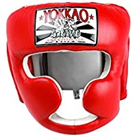 Yokkaoヘッドギアボクシング&タイ式 – ブラック、レッド、ブルー