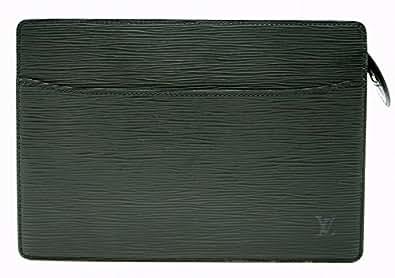[ルイ ヴィトン] LOUIS VUITTON エピ ポシェット オム セカンドバッグ クラッチバッグ レザー ノワール 黒 ブラック M52522 [中古]